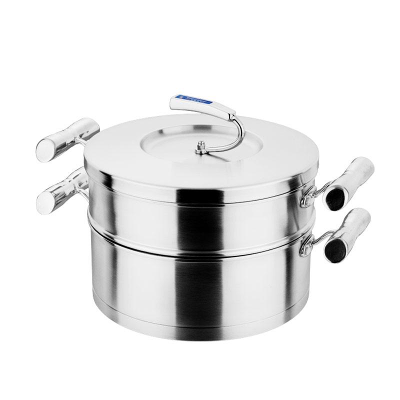 欧米乐煎炒锅+蒸格