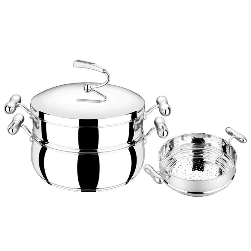 英斯顿煎炒锅+蒸锅