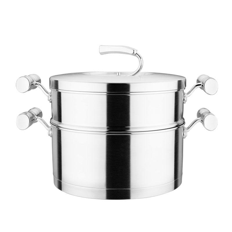 欧米乐24cm汤锅+蒸格
