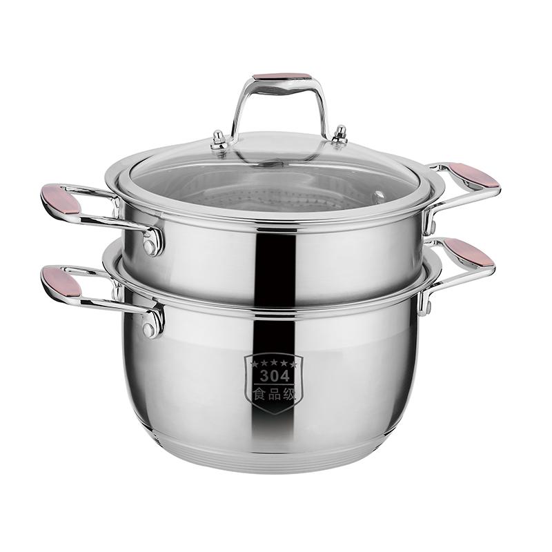 豔陽雙柄多用湯鍋