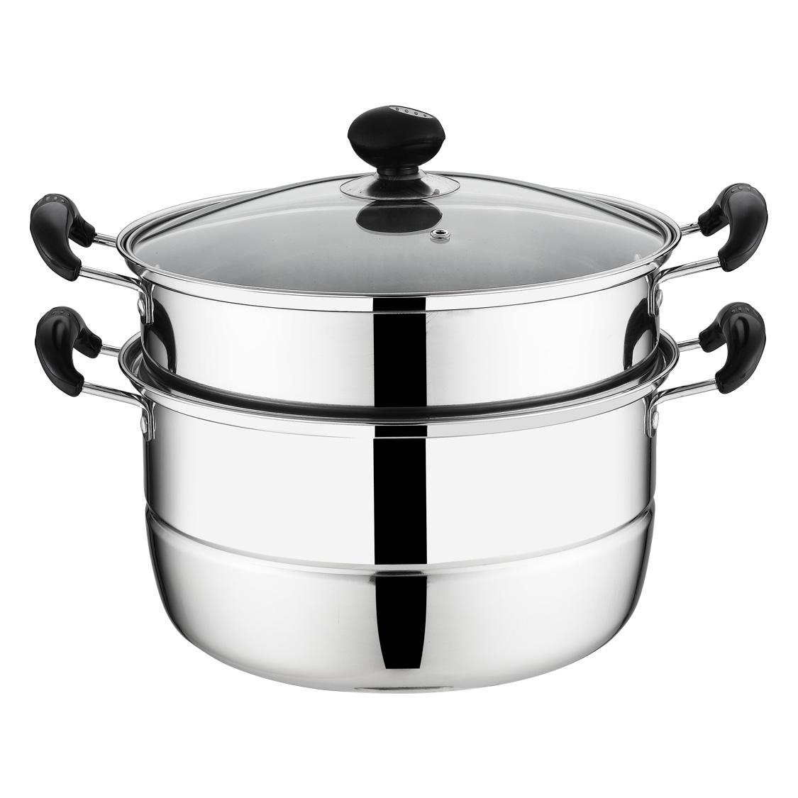 26cm430不锈钢蒸锅