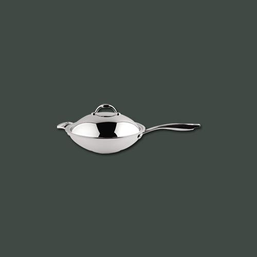 华乐厨三层钢多用炒锅